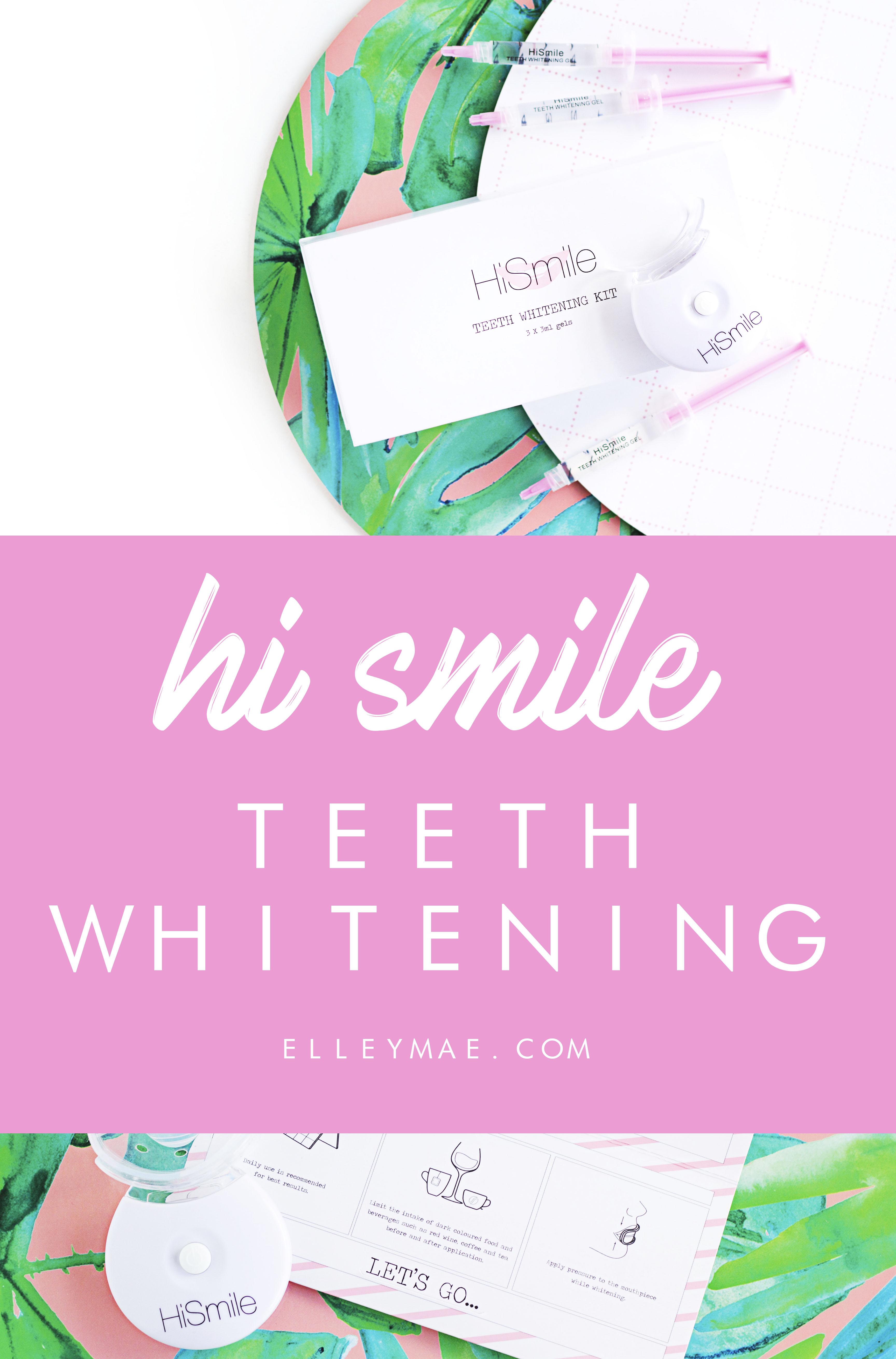 Hi Smile Teeth Whitening Kit Review