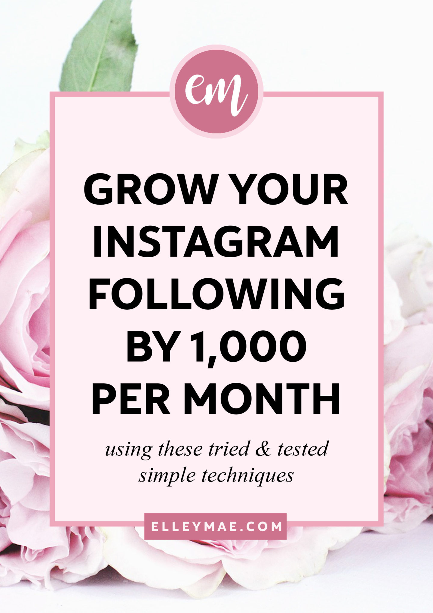 Gain Followers On Instagram | Sick of trying to crack the Instagram algorithm? Fed up with seeing your followers decline not go up?! Yep, I've been there. Instagram can be frustrating sometimes - But I managed to gain followers on Instagram, 10 thousand within 10 months actually. Wanna know my Instagram secrets? Learn more at ElleyMae.com