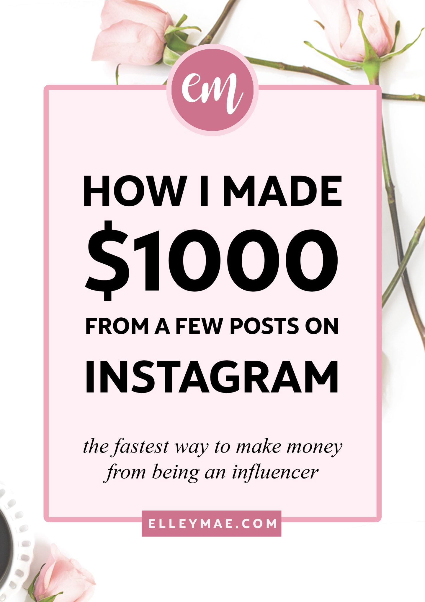 How I Made My First $1k from Sponsored Instagram Posts