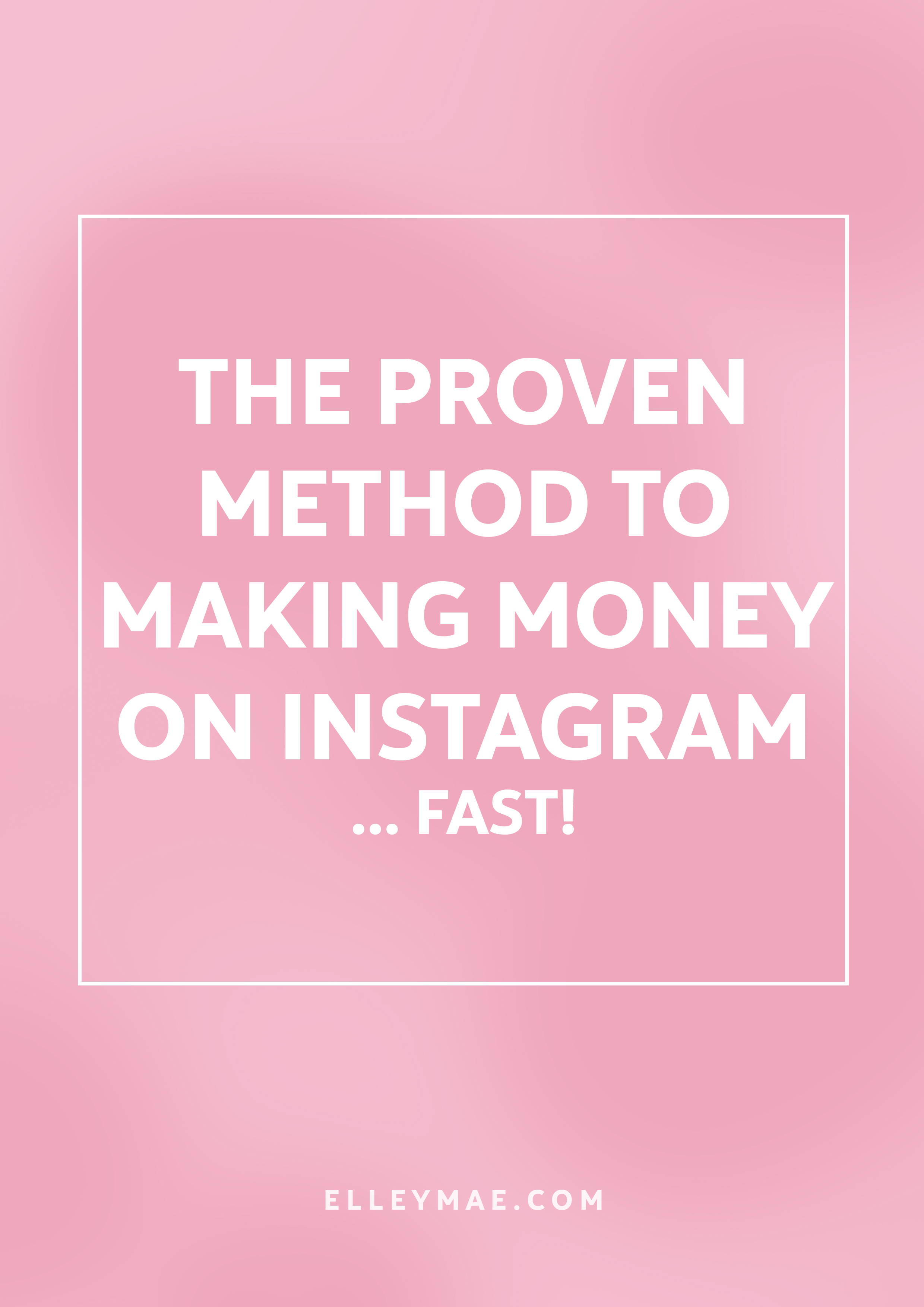 "How To Make Money On Instagram, Fast! | Learn how to grow your followers, increase your Instagram aesthetic and make fast money using this one simple tool. Making money on Instagram isn't as hard as it sounds when you look in the right places. Stop searching ""How To Make Money on Instagram"" and start doing people! It's simpler than you think 