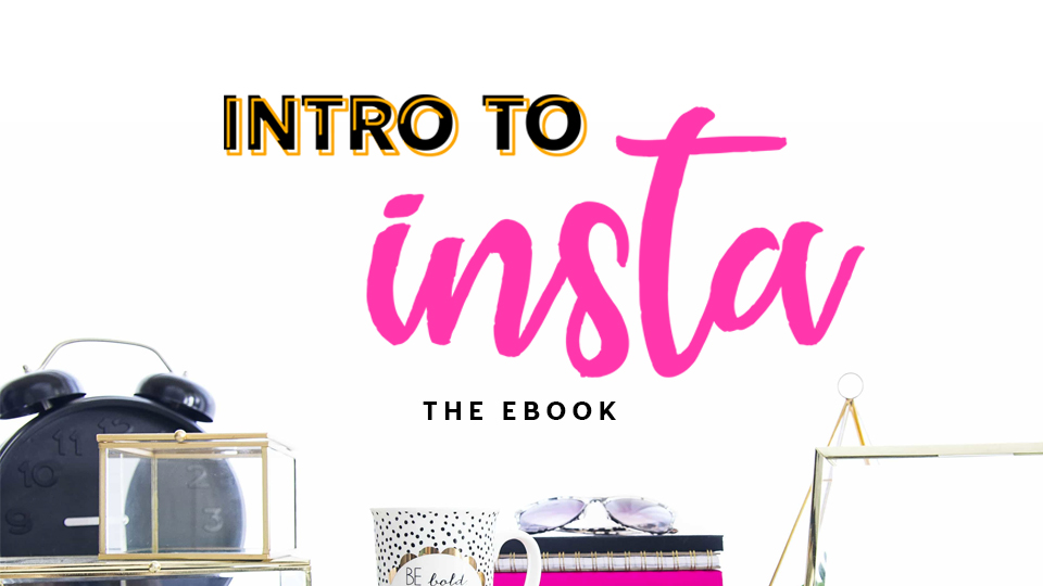 Intro To Insta - Learn how to set your Instagram profile up the right way & gain followers from the very beginning. A simple, easy-to-understand (yet super badass) eBook to help you create the perfect Instagram profile today!