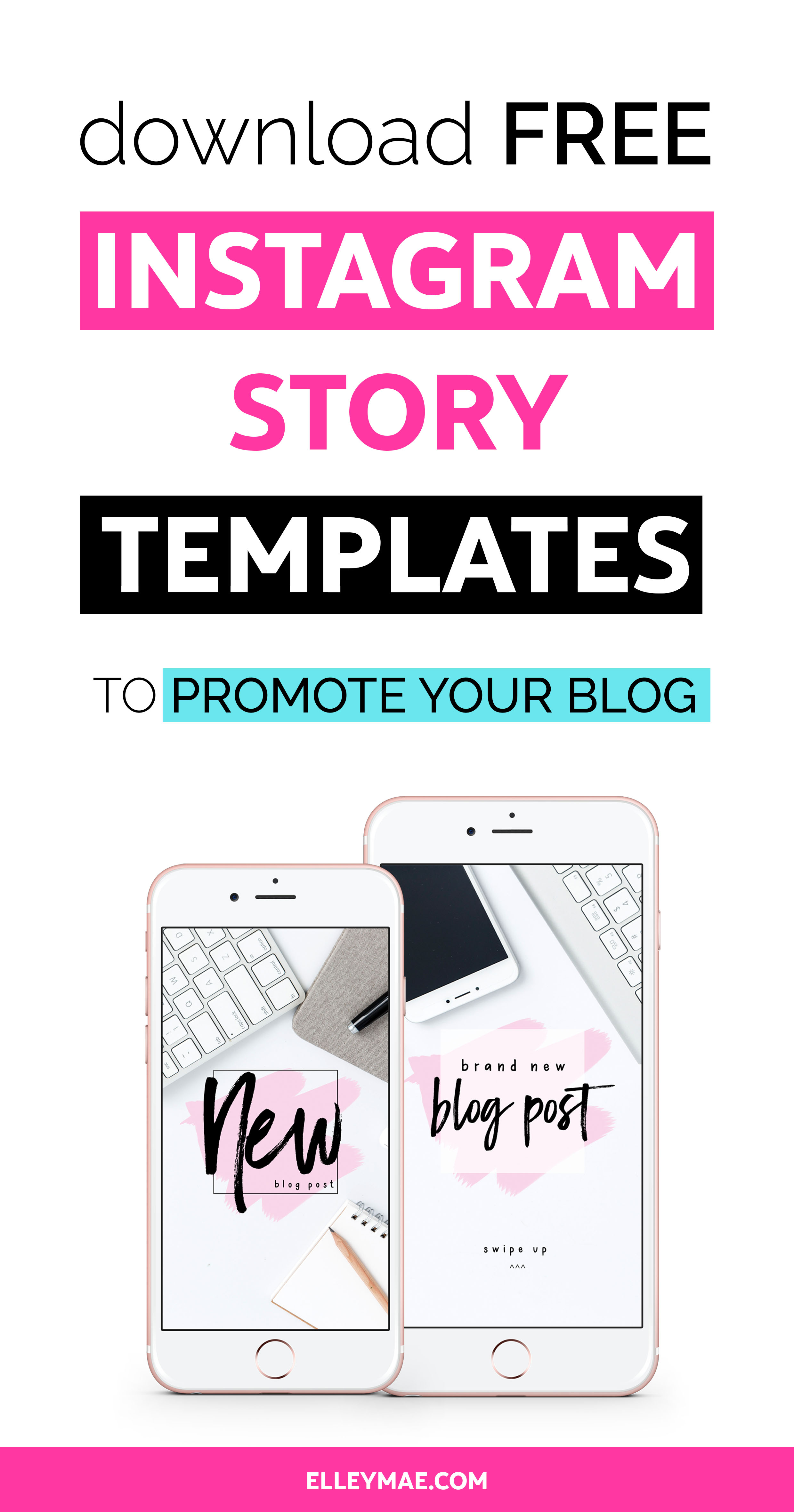8 creative ways to grow your blog with instagram stories elley mae. Black Bedroom Furniture Sets. Home Design Ideas