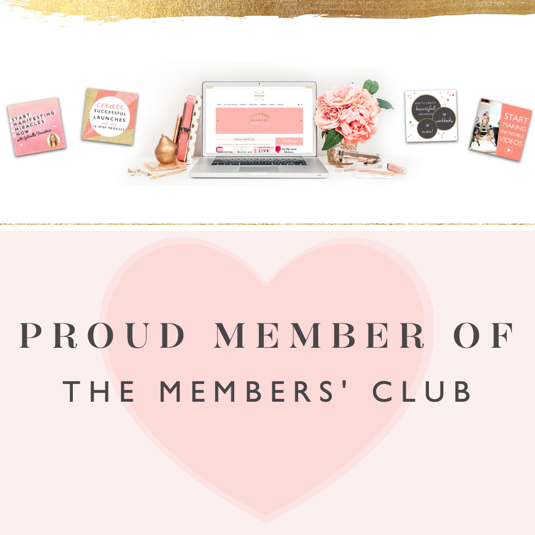 Female Entrepreneur Association | Join me in the Member's Club!