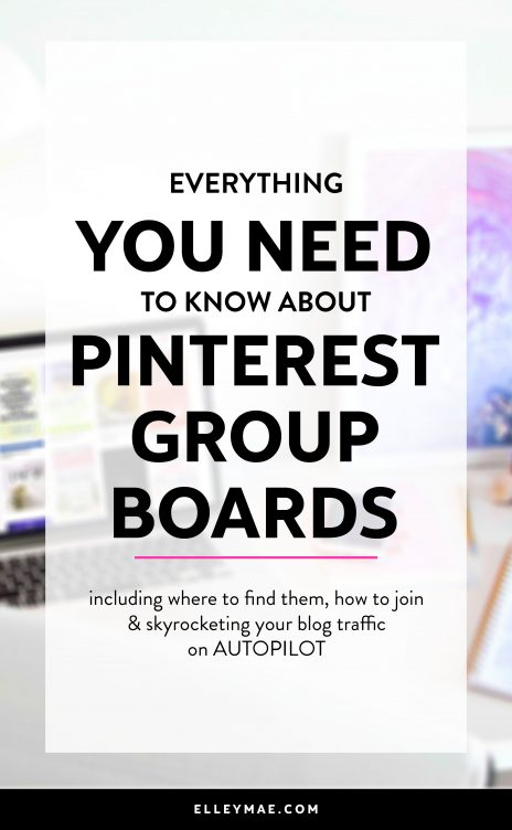 What are Pinterest group boards & what do they really do for your blog traffic? Learn the secrets to success now! | #Pinterest #PinterestGroupBoards #GroupBoards #PinterestManager #PinterestStrategy | Pinterest Group Boards, Group Boards, Group Board Strategies, Blog Traffic, Get More Blog Traffic, Best Group Boards for Bloggers, Best Group Boards for Moms, Pinterest Manager, Where to Find Group Boards, How to Join Group Boards | ElleyMae.com