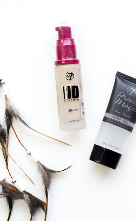 W7 HD 12hr Foundation & Primer Review