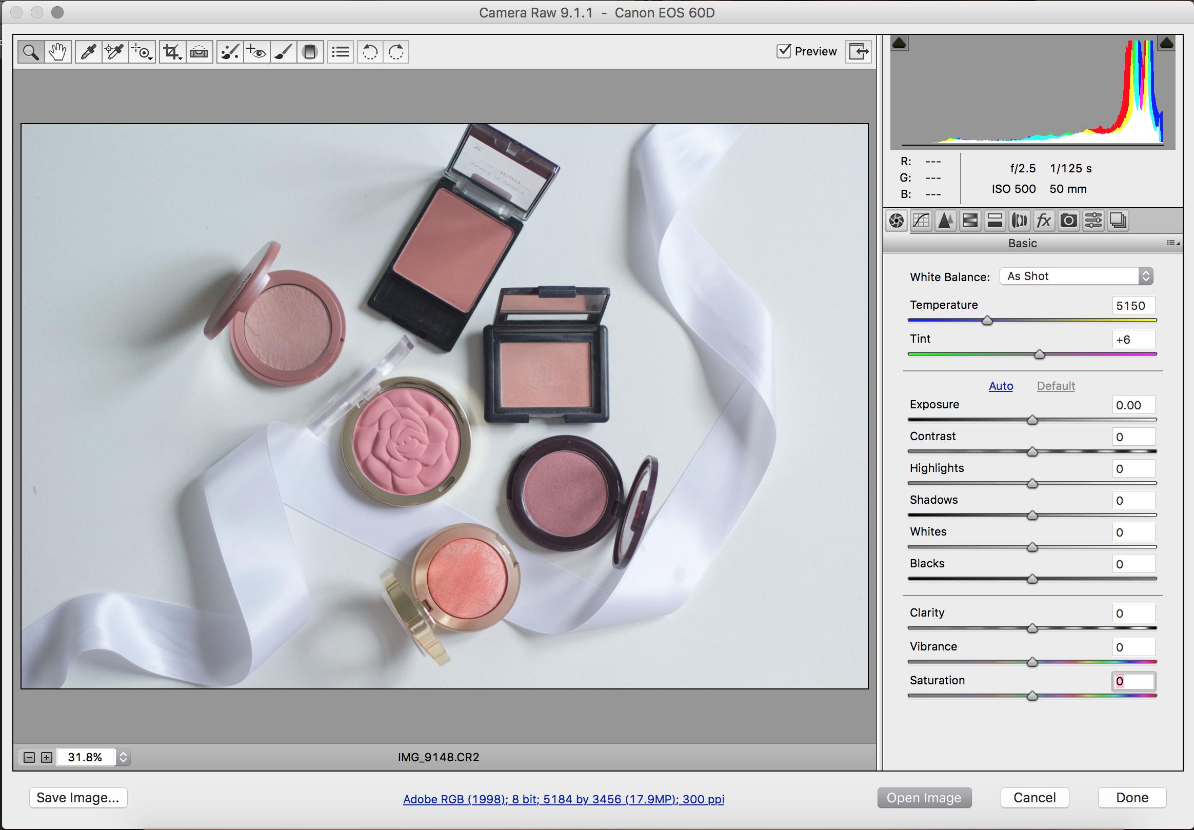 Photoshop 101: How To Edit Raw Photos | ElleyMae.com