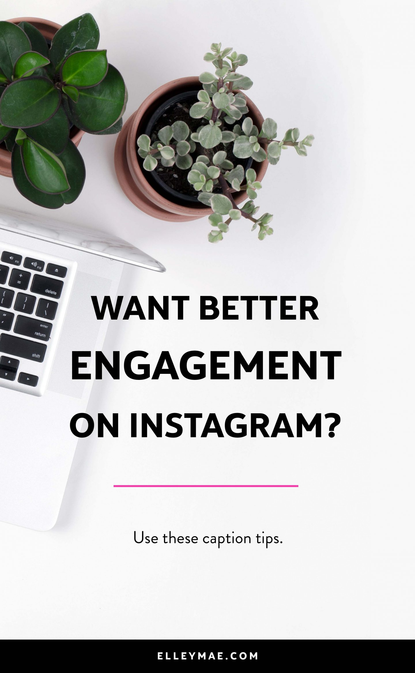 Are your Instagram captions killing your engagement? I have bad news for you #bossbabe, the chances are, you're doing it all wrong with your Instagram captions. Uh oh! Let's fix it! With my 3-step-formula, you can getting better Instagram engagement, gain followers FAST & grow a loyal tribe! How does that sound? Crazy amazing huh?! Let's dive in | Learn More at ElleyMae.com
