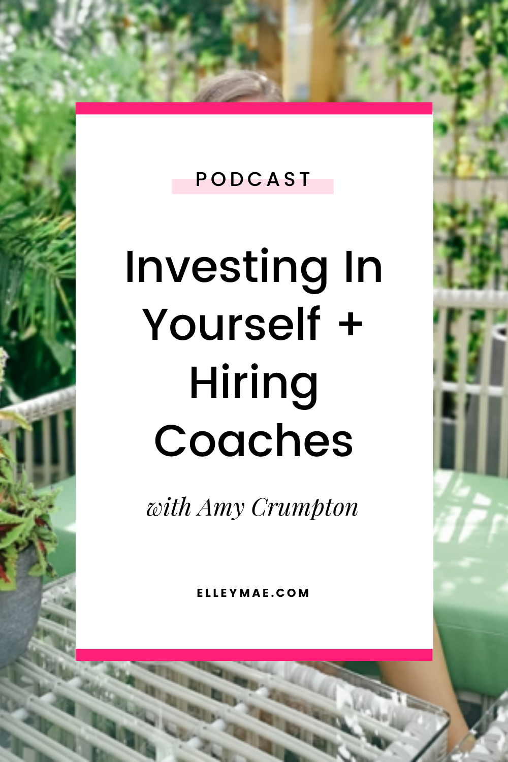 Investing In Yourself + Hiring Coaches