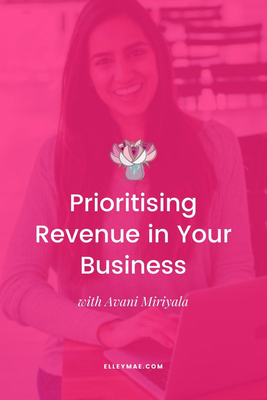 Prioritising Revenue in Your Business