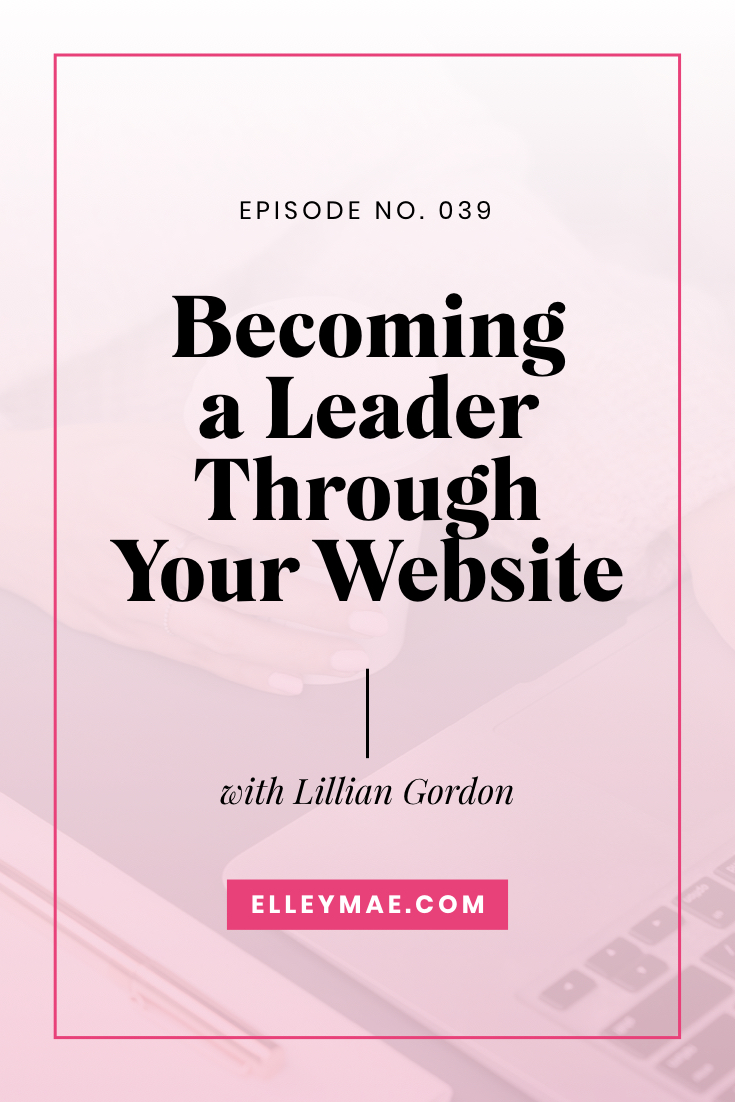 Becoming a Leader Through Your Website