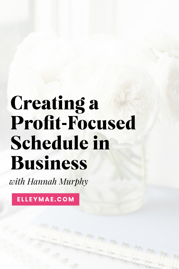 Redefining Productivity & Getting the RIGHT Tasks Done with Hannah Murphy