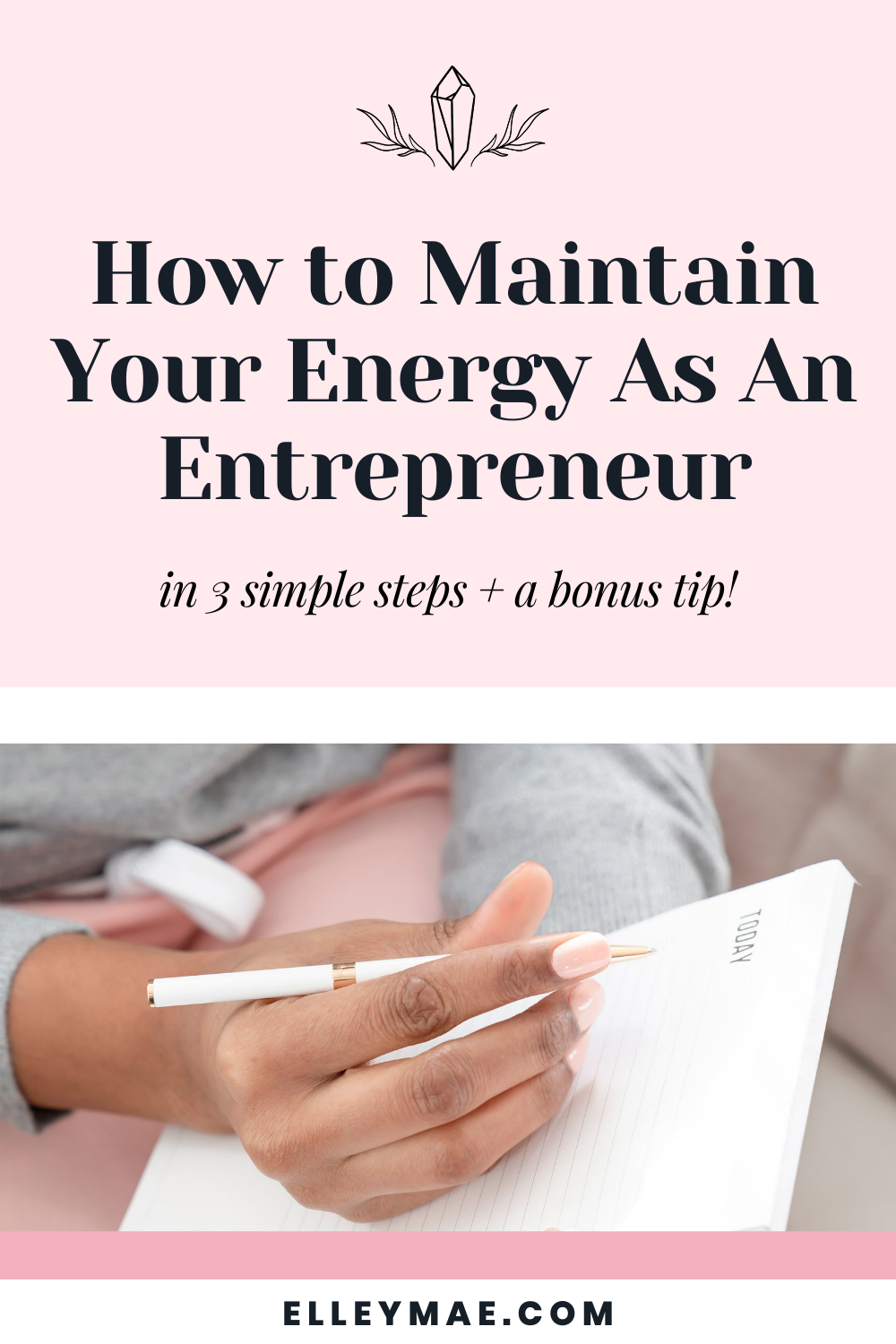 058. Maintaining Your Energy & Motivation As An Entrepreneur