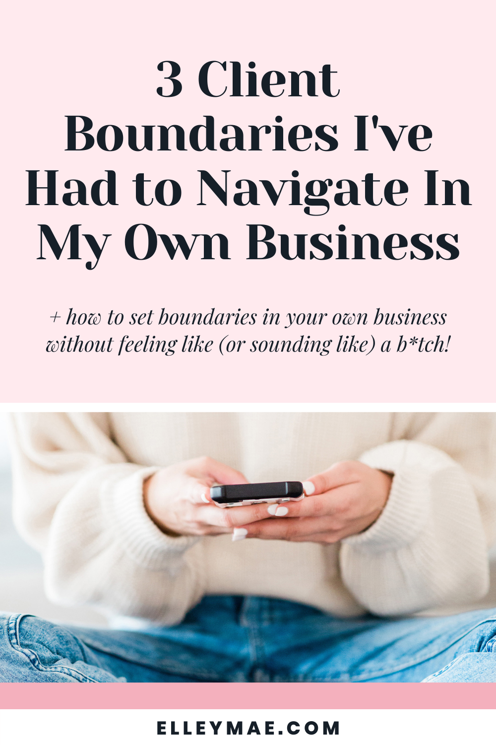 086. Client Boundaries I've Had to Navigate In My Own Business