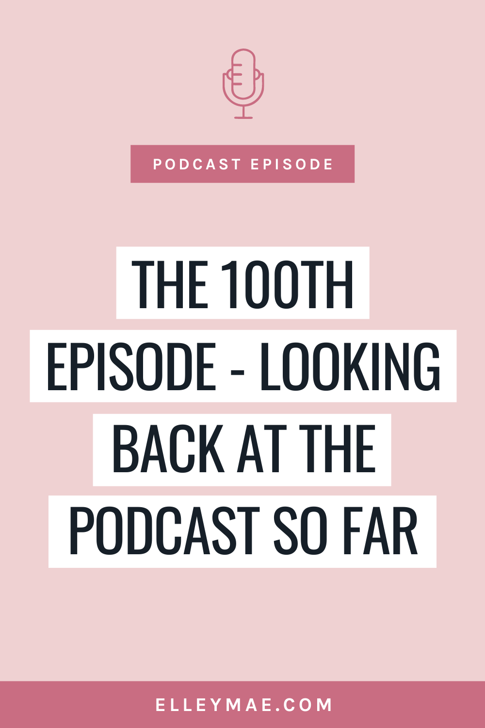 100. Reflecting On 100 Episodes - Highlights, Favourites & What's To Come